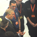 HRH Opens Training Centre Sponsored By VISI And EDGECAM